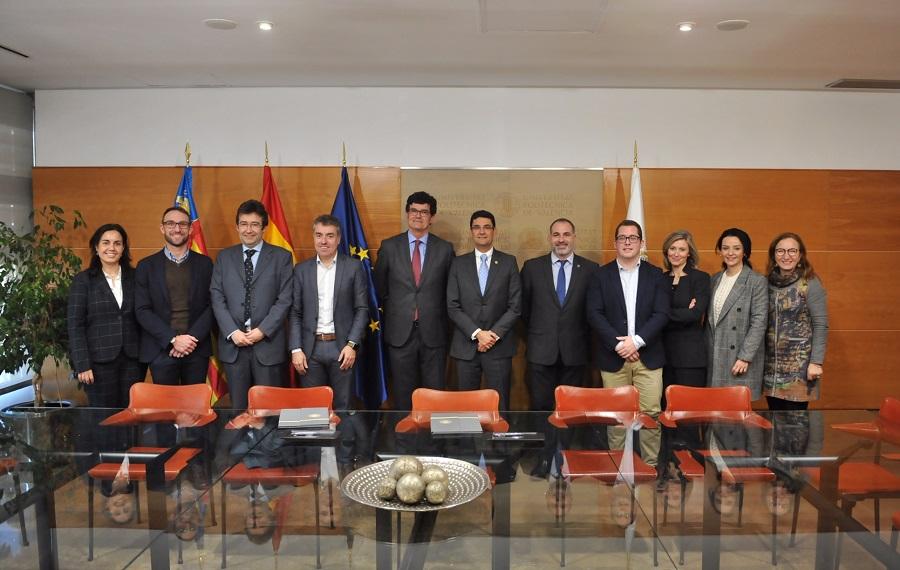 La UPV firma un convenio para la creación de una cátedra de economía circular asociada al agua y los residuos