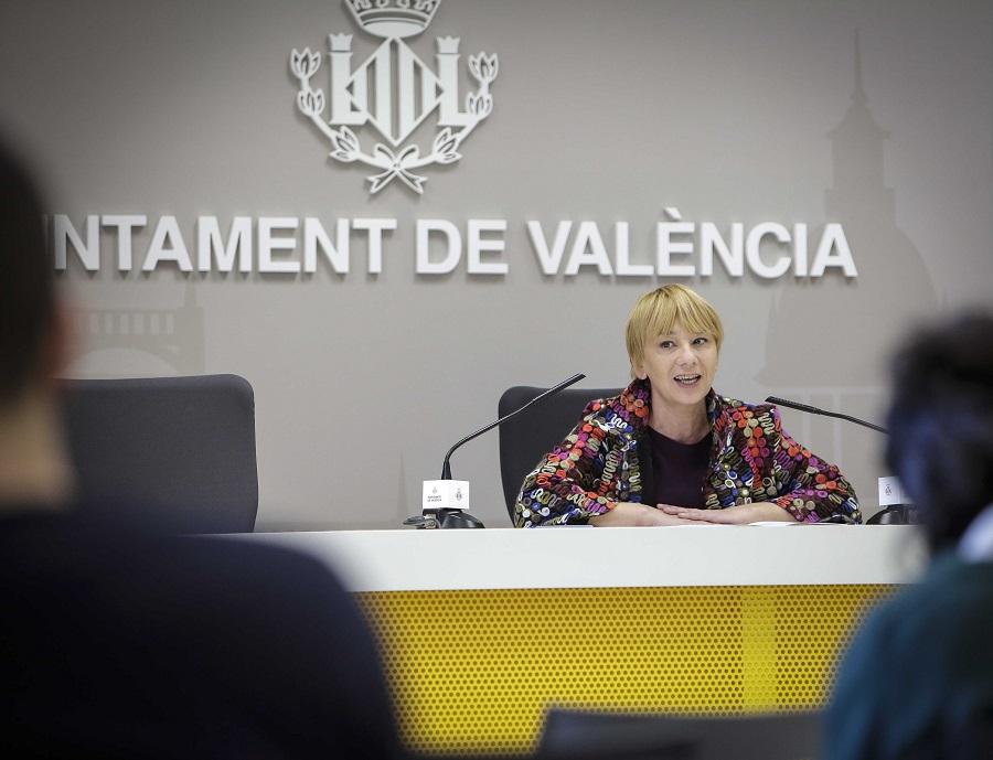 presentación de los datos de recogida de materia orgánica en Valencia