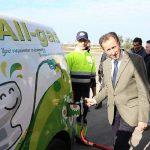 Chiclana ya cuenta con siete vehículos de biogás generado con residuos de EDAR