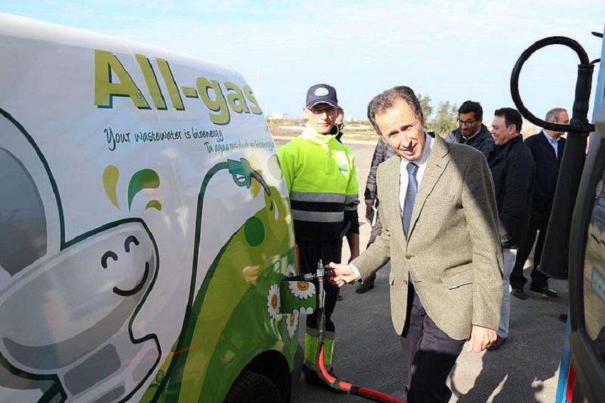 Un nuevo vehículo de biogás en Chiclana