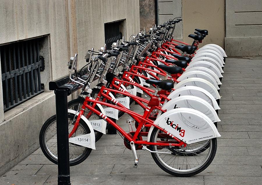 Bicicletas públicas en Barcelona