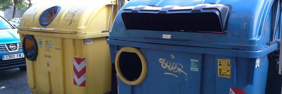 Cada ciudadano de Castilla y León depositó 920 envases en el contenedor amarillo y 717 en el azul en 2018