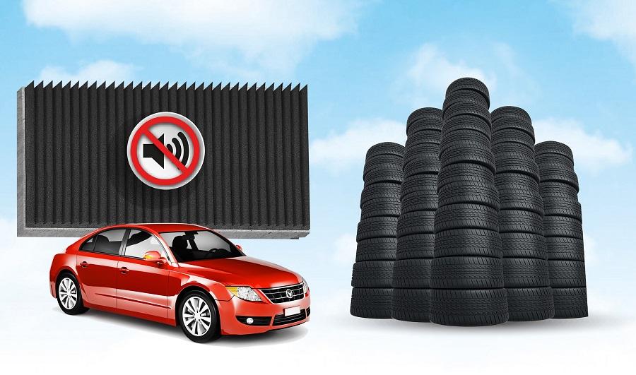 Dos empresas croatas fabrican muros aislantes con neumáticos usados