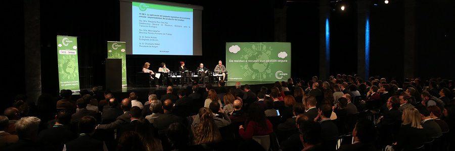 El paquete de economía circular y la responsabilidad compartida del productor protagonizan el VIII Foro de los Residuos Industriales