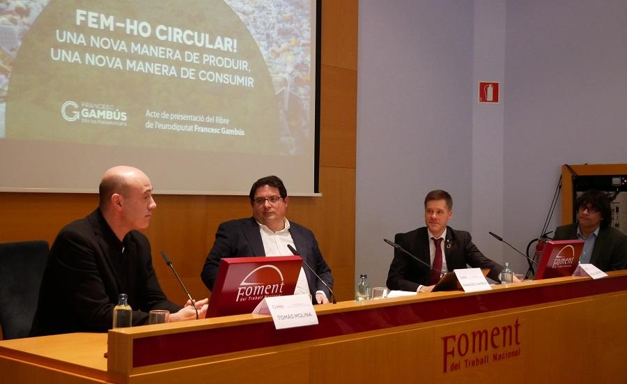 Presentado el libro sobre economía circular de Francesc Gambús