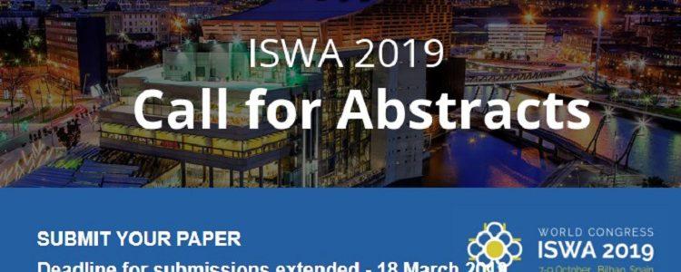 Se amplía el plazo para el envío de ponencias al congreso mundial de gestión de residuos ISWA 2019