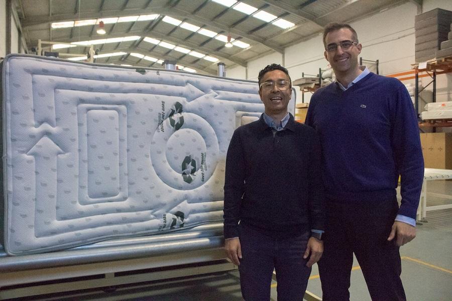 Primer colchón reciclado
