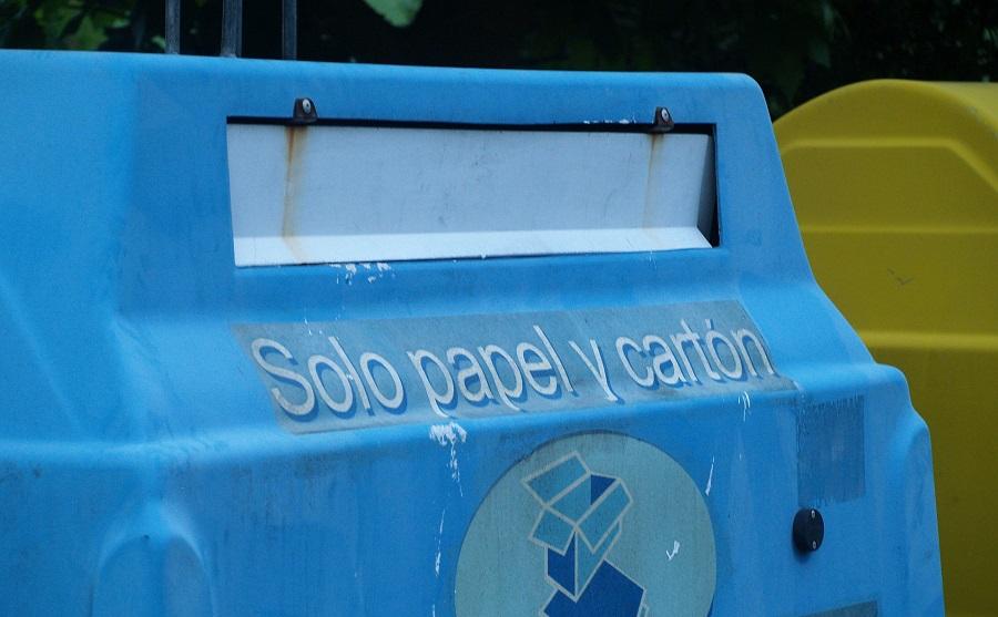 Crece el uso de los contenedores azul y amarillo