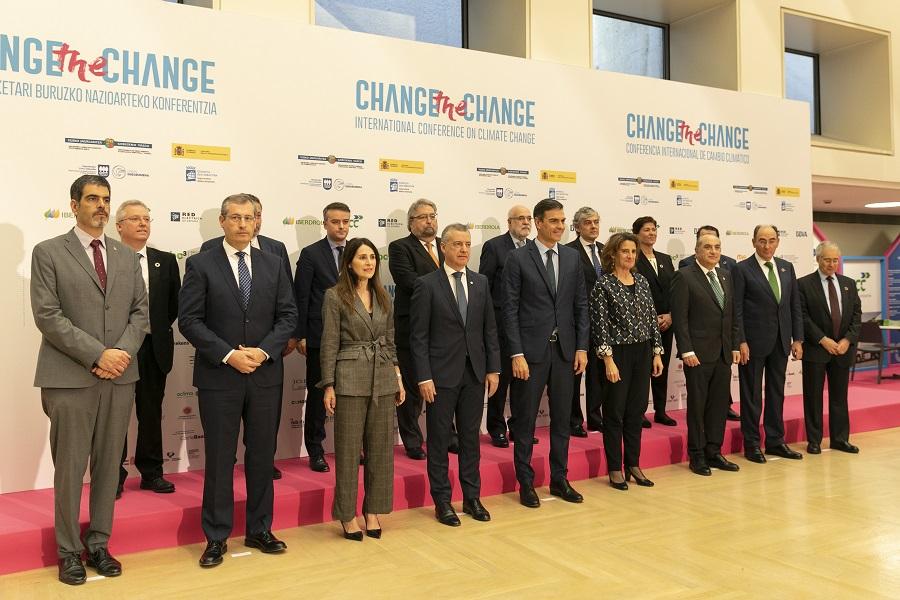 Apertura de la conferencia internacional sobre cambio climático Change the Change