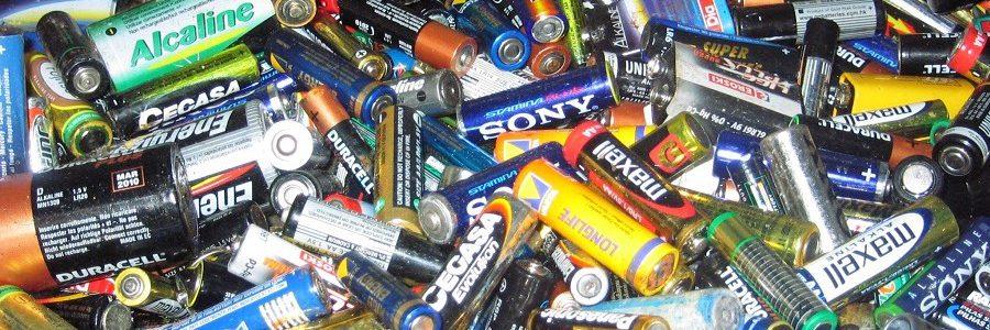 Eucobat reclama un objetivo de recogida de pilas basado en la cantidad de residuos generados
