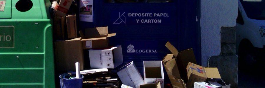 Gijón quiere potenciar la recogida puerta a puerta de residuos comerciales