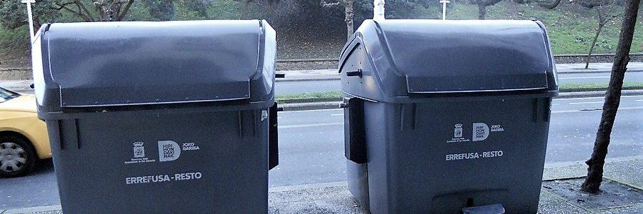 Los contenedores inteligentes de residuos urbanos de San Sebastián superan con éxito su fase piloto