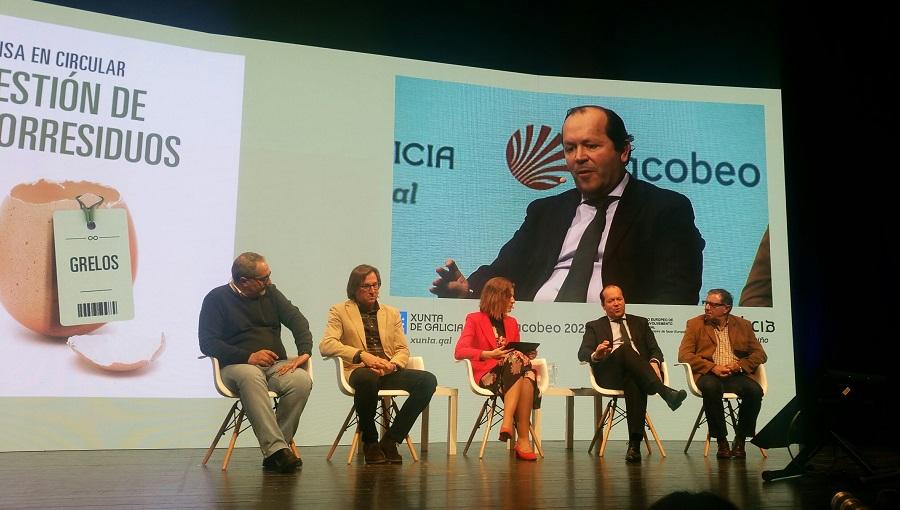 Javier Domínguez Lino, durante la jornada sobre biorresiduos y economía circular
