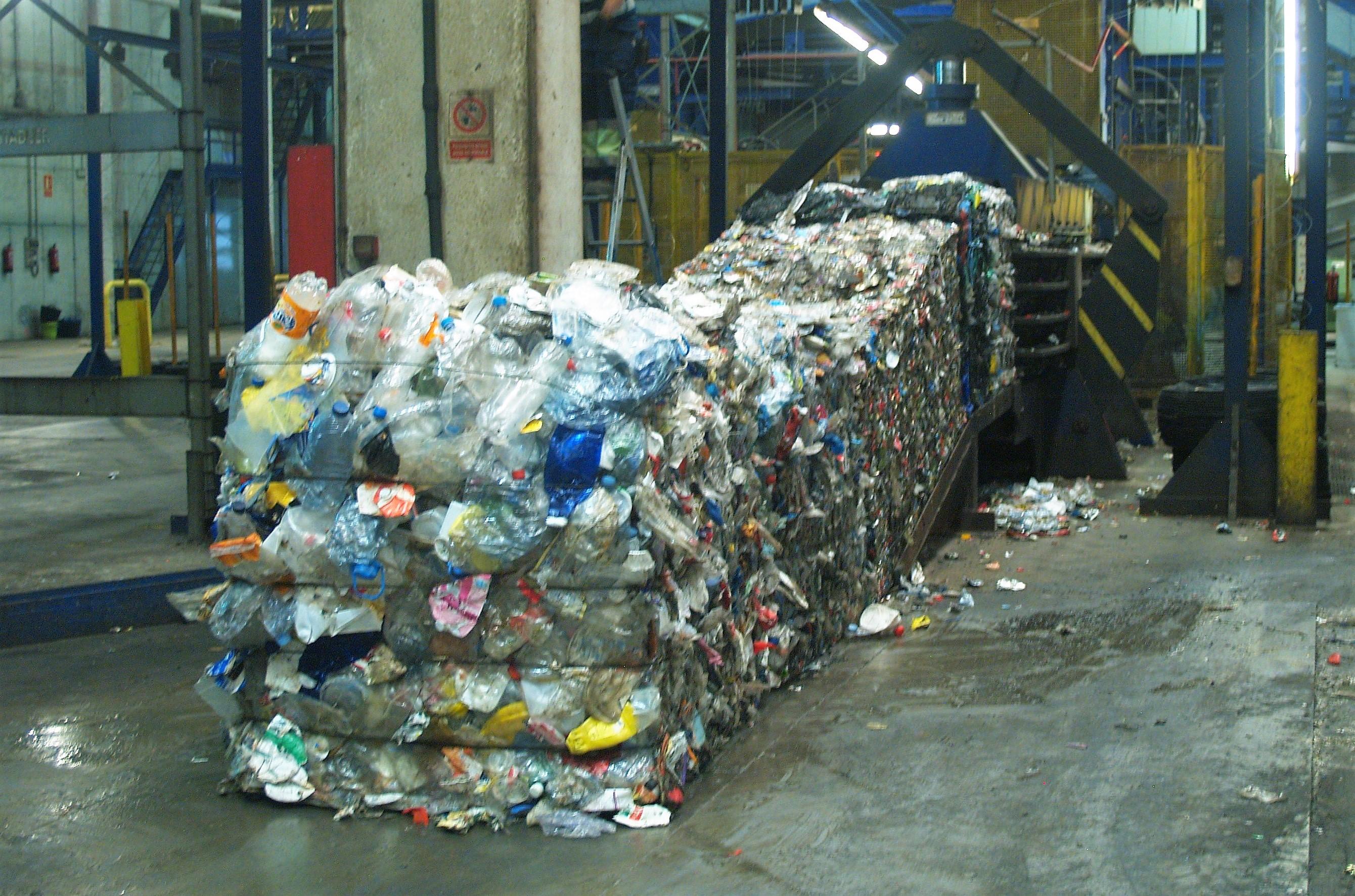 El reciclaje de plástico en España supera el millón de toneladas