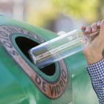 Los españoles reciclaron 894.000 toneladas de vidrio en 2018, un 9% más