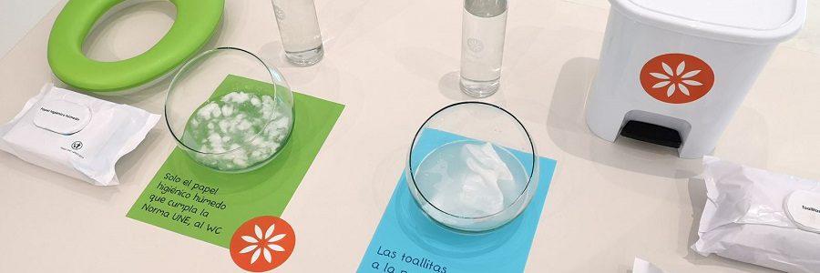 Los fabricantes de toallitas húmedas asumen como obligatoria la norma UNE sobre productos desechables en el inodoro