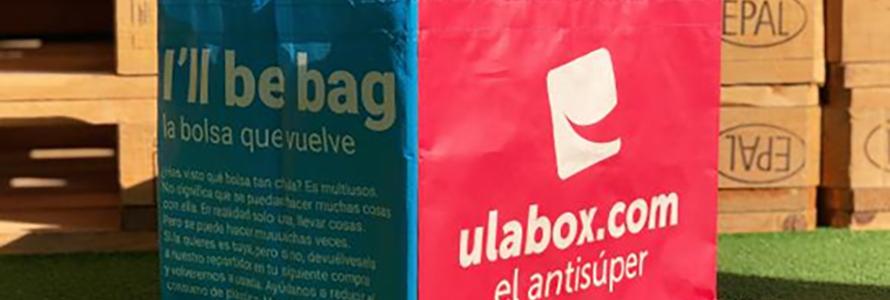 Ulabox pone en marcha el sistema EcoBag de reutilización de bolsas