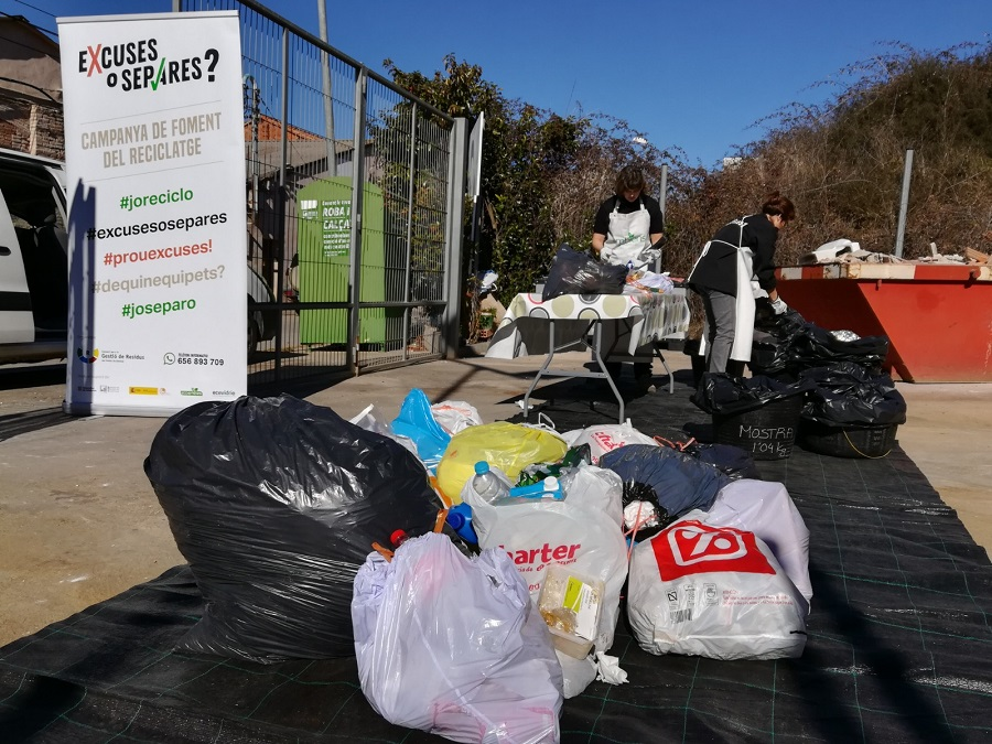 Caracterización de los contenedores de resto en el Vallès Occidental