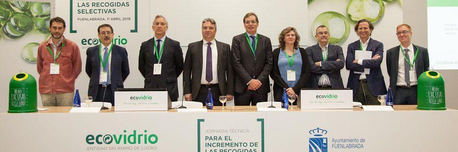 Ecovidrio analiza con técnicos de residuos las prácticas más vanguardistas en recogida selectiva