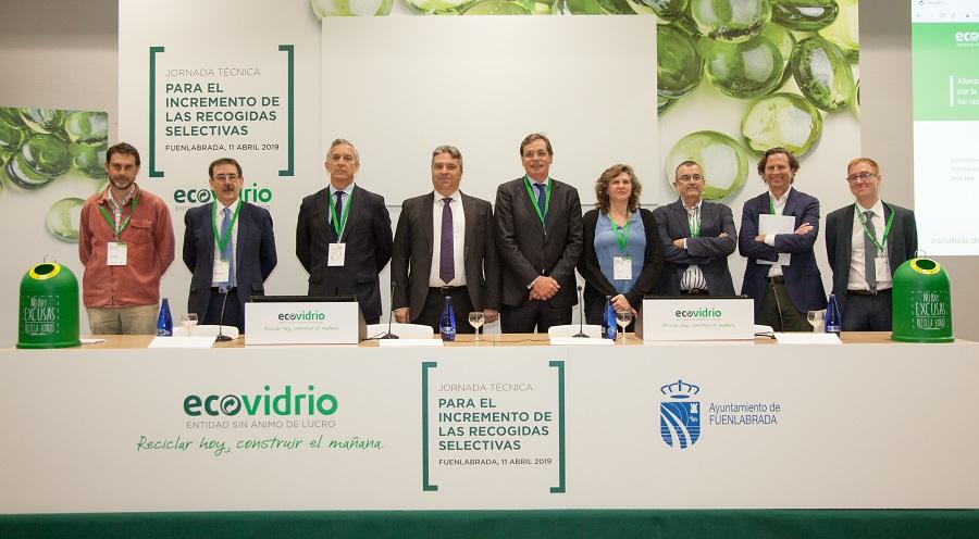 Jornada técnica de Ecovidrio sobre recogida selectiva