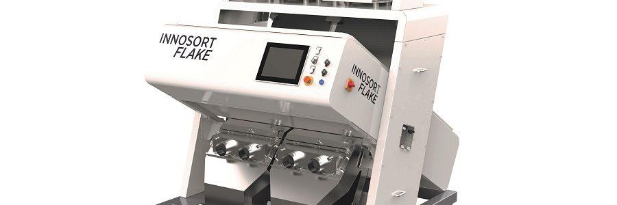 TOMRA Sorting Recycling lanza el INNOSORT FLAKE con sistema de clasificación dual de PET basado en sensores