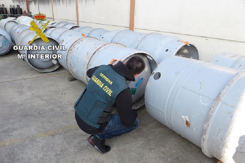 Operación de la Guardia Civil contra la exportación ilegal de residuos peligrosos