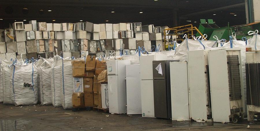 Ecotic se acerca a las 100.000 toneladas de residuos electrónicos gestionadas