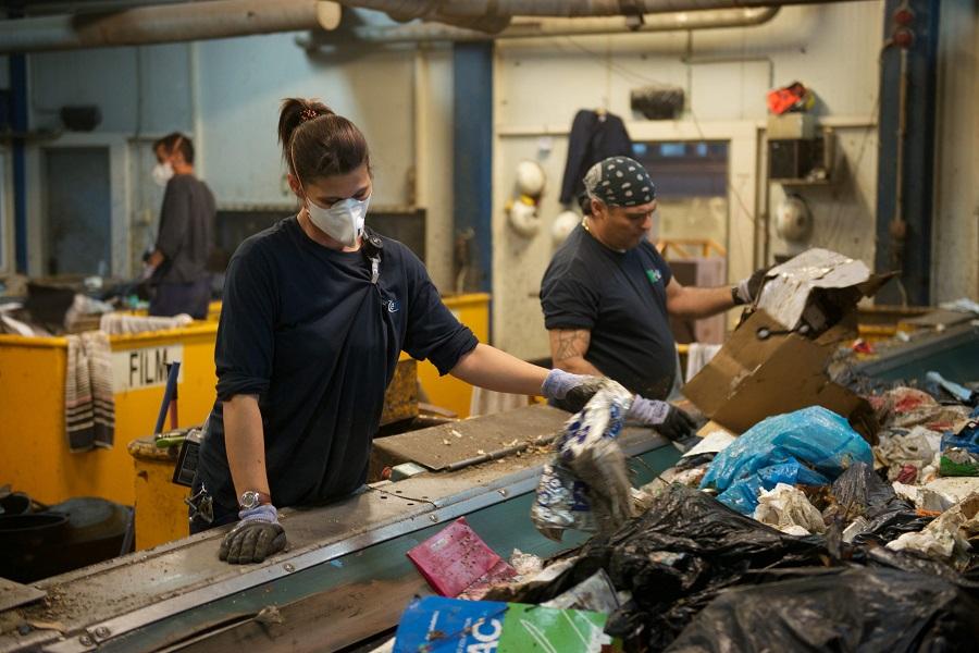 La planta de residuos del maresme aumenta el reciclaje de materiales