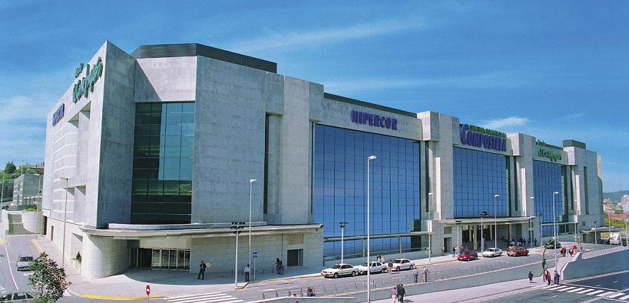 Centro de El Corte Inglés en Santiago de Compostela