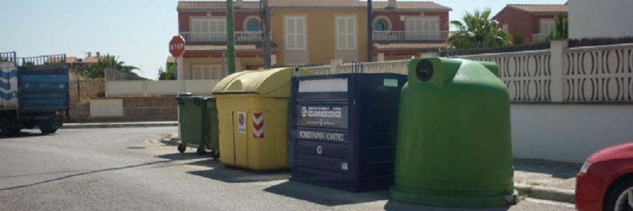 El programa de prevención de residuos municipales de Palma prevé introducir el pago por generación