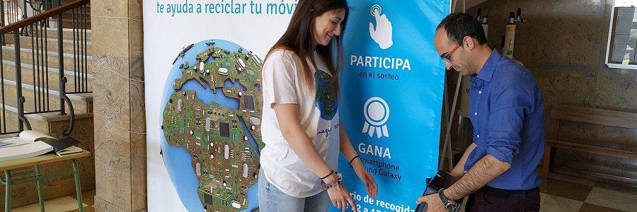 Once universidades españolas participan en una campaña de reciclaje de residuos electrónicos