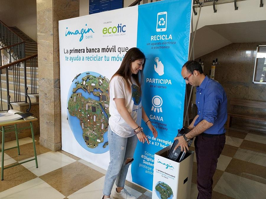 Campaña para el reciclaje de RAEE en las universidades españolas