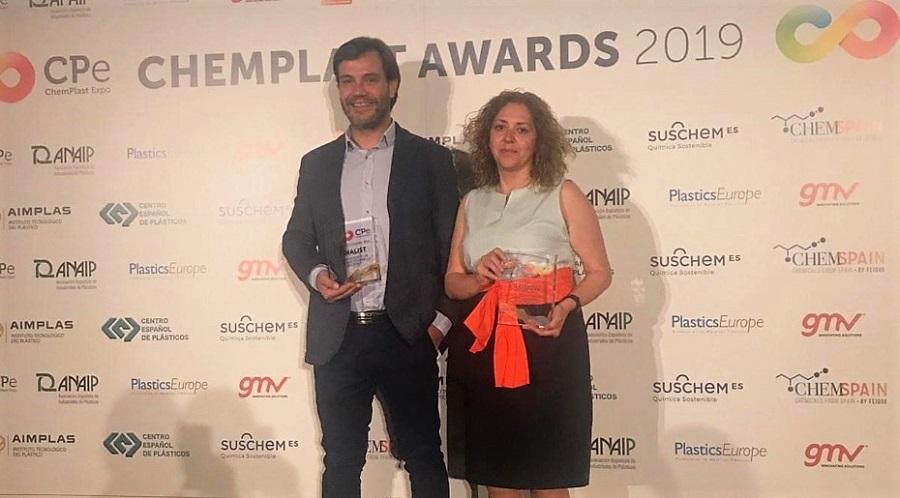 Eurecat recibió el premio por su trabajo para la valorización de fibras de carbono de composites