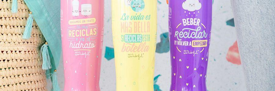 Nestlé lanza una botella de agua fabricada con un 25% de plástico PET reciclado