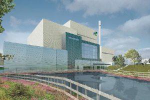 Recreación planta valorización energética de FCC en Escocia