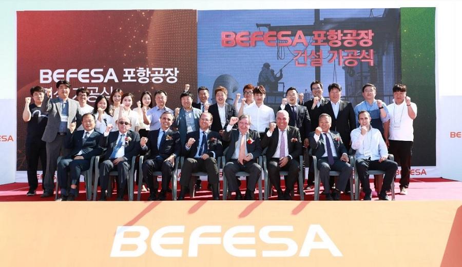 Befesa construye una nueva planta de lavado en Corea del Sur