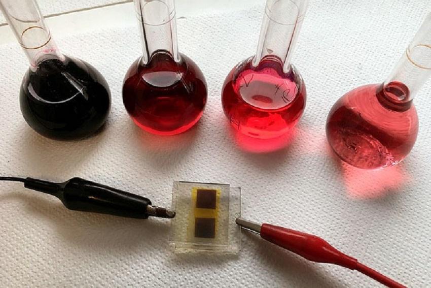Célula fotovoltaica obtenida a partir de residuos de vino
