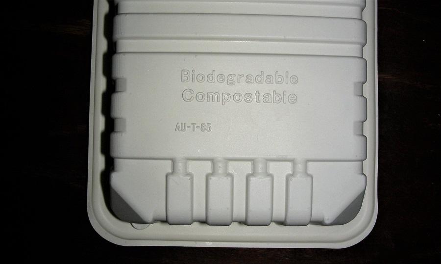 Los envases compopstables de alimentos pueden liberar químicos en el medio ambiente