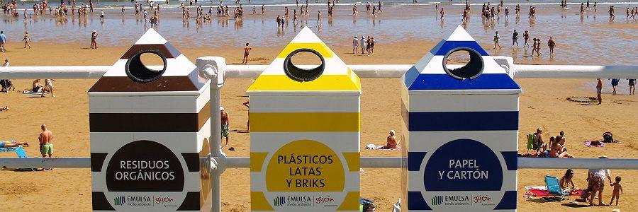 La separación de residuos para el reciclaje crece en Gijón hasta el 30%