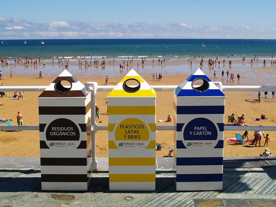 La recogida selectiva en Gijón alcanza el 30%