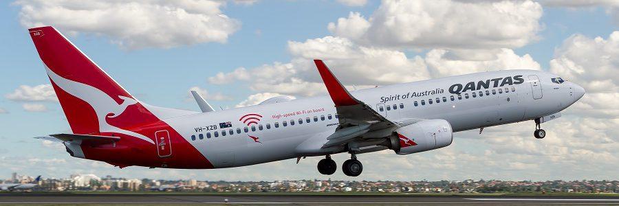 La aerolínea Qantas opera el primer vuelo de residuo cero