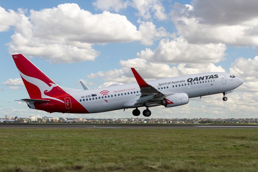 Qantas lanza el primer vuelo cero residuos