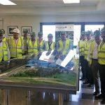 Los gerentes de las centrales españolas de valorización energética visitan la planta de recuperación de materiales de Sogama