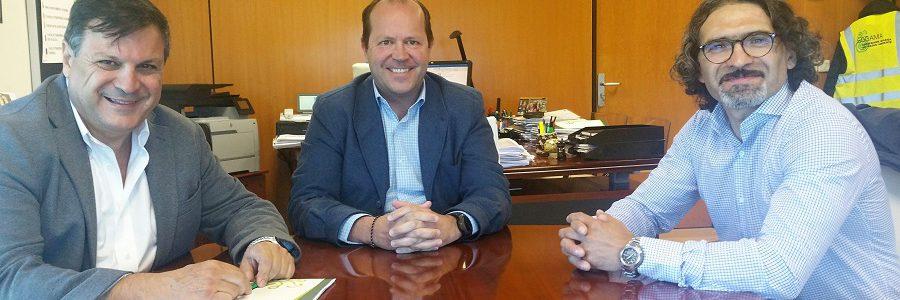 Argentina también se interesa por el modelo de gestión de residuos de Sogama