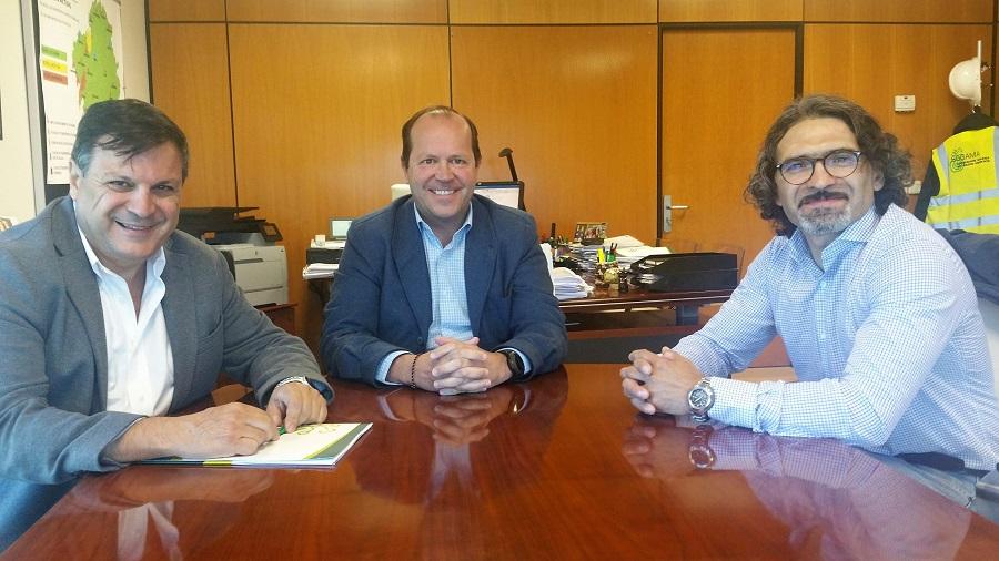 El responsable de residuos de la provincia de Santa Cruz, en Argentina, visita Sogama