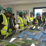 Una delegación del Congo visita el complejo de tratamiento de residuos de Sogama