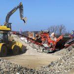 Málaga exigirá el uso de áridos reciclados en las obras públicas