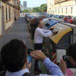 Presentados en Valencia los contenedores que permiten saber cómo reciclan los ciudadanos