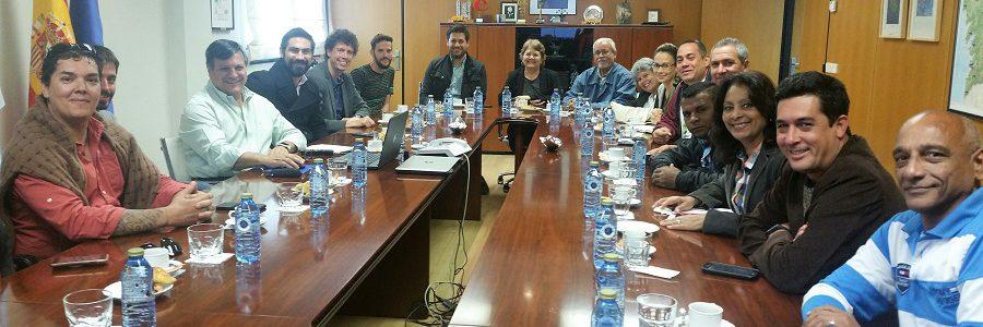 Técnicos de Cuba y Costa Rica visitan el complejo de gestión de residuos de Sogama