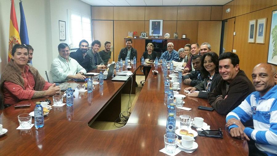 Formadores de Cuba y Costa Rica visitan Sogama